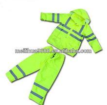 2-Piece HI-VIS Class Yellow Rain Suit