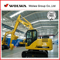heavy equipment DLS130-9 rc excavator made in china for sale