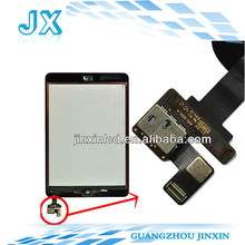 New quality with IC CONNECTOR & HOME FLEX oem guangzhou for ipad mini digitizer touch screen assembly