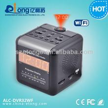 Nanny Camera Alarm Radio Clock Camera, Hidden IP Camera