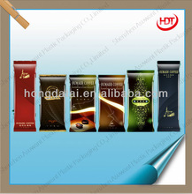 hot seller packaging back centre sealed bag pouch for coffee