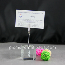 business cardholder ;glass name card holder,