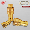Hydraulic Quick Coupling Hose Connector (Brass)