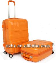 8 wheels hard shell pc london style luggage