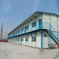 Estructura de acero de almacén escaleras