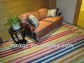 coloridos feitos à mão tapete do assoalho do mnk fabricantes de tapetes