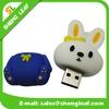 Rubber Animal Rabbit Shape USB Flash Drives