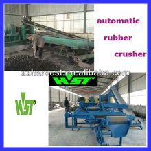 Hot Selling Full Automatic Tire Recycling Machine with Large Capacity