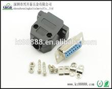 db15 shell d-sub plastic protect shell
