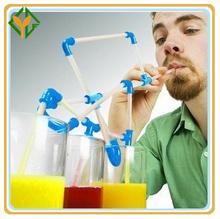 DIY crazy drinking straw,High Quality Kids Drinking Straw