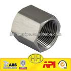 stainless steel din thread hexagonal cap