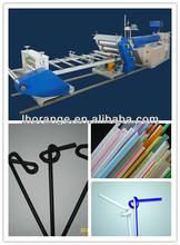 plastic flexible straw making machine