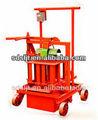 Qmj2-45 Manual porosa máquina de bloques de hormigón