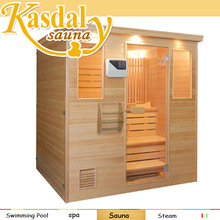 wholesale price 1 to 4 person Finland sauna house portable steam sauna room