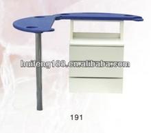 2014 modern high quality professional manicure table/nail table/nail manicure table nail table 191