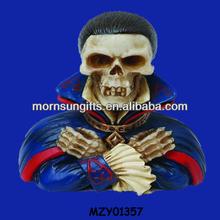 2015 New Designed Handmade Fashion Skull Man for Holiday Decor
