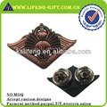 placas de bronce personalizado insignias de metal