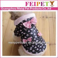2014 lovable design wholesale price winter dog coat