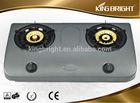 Double burner inox gas stove small kitchen appliances wholesaleB-2214A