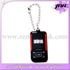 New product soft pvc key chain,mobile phone key chain,soft ruuber key chain