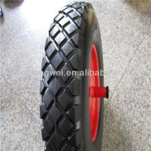 14x4.00-8 Big Diamond pattern pu foam wheel barrow wheel