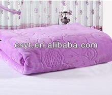 polyester coral fleece blanket fabric