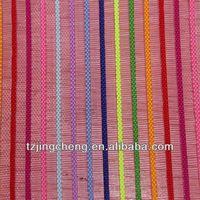 Striped printing Nylon handbag