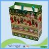 shenghua reusable shopping hand bags matching western european christmas day