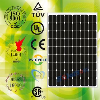 the lowest price wholesale 235watt mono pv solar panels factory with tuv ul