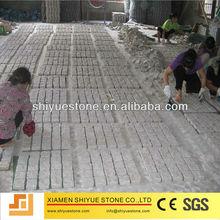 natural light grey granite paver
