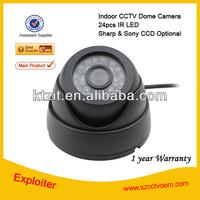 Gold Supplier 24pcs ir led 700tvl CCTV Camera Specification