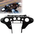 Black Speedometer Cover Cowl Fairing For Harley For Harley Softail Road King Custom