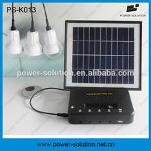 Portable 4W panel solar lighting system for home use, solar power system, solar light kit