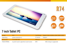 New style 7 inch android 4.1 slim tablet pc wifi/blue tooth dual camera tablet pc HD800*480 HDMI high definition
