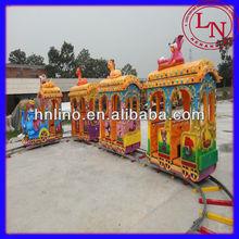 Elephant Electric Track Train Amusement Park Kiddie Train for Sale