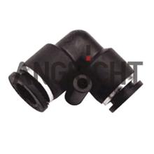 reducer elbow pneumatic fitting,black/blue, good quality