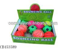 rubber ball toy bounce balls 12pcs sport toys
