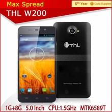 1GB+8GB Android 4.2 thl W200 Dual SIM card long battery life smart phone