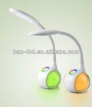 Adjustable eye-protection portable solar led desk lamp with charger sresky 2014 trend