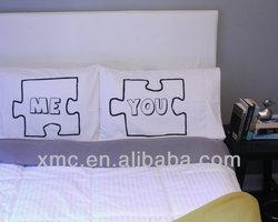 Puzz Piece Pillow Case, Love Pillowcases