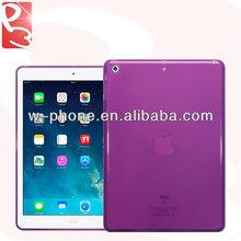 Semi Purple Glossy Shiny TPU Cover for iPad 5