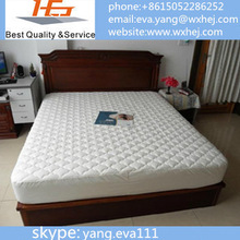 Wholesale twin/full/queen/king fitted mattress cover/mattress protector