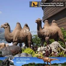 fiberglass zoo artificial animal model camel