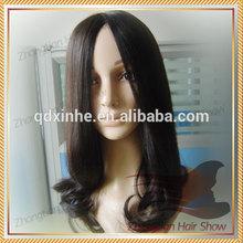 2014 Half Hand Made Human Hair Jewish Wig/Kosher Wig