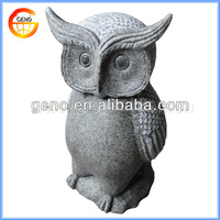Current Garden Or Home Decoration Stone Finish Resin Owl Figurines