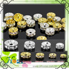crystal rondelle spacer beads for jewellery components