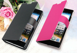 new coming high quality leather phone case for Huawei G700