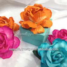 Flower Silk Favor Box