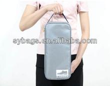 Promotional rectangle 600D fabric shoe bag