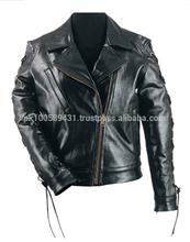 Motorbike Leather Jacket for Women- Premium Leather Jacket / Leather Garment in Pakistan Sialkot